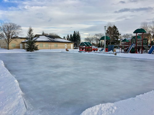 recent picture of the rink